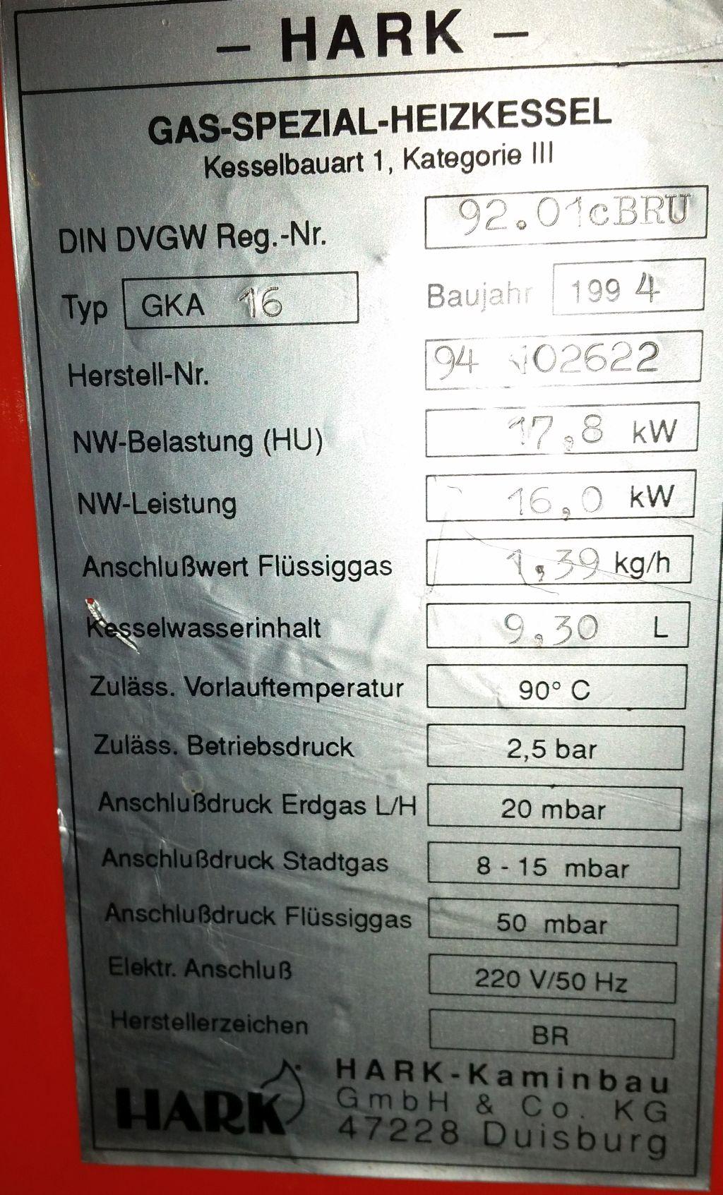Taupunkt vs. O2/CO2 vs. Sockeltemperatur: Brennwert reverse ...